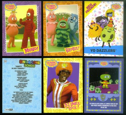 Yo Gabba Gabba Press Pass 2012 Complete Parallel